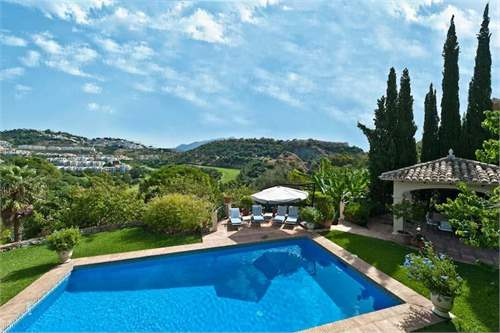 # 8703455 - £989,380 - 4 Bed Villa, Benahavis, Malaga, Andalucia, Spain