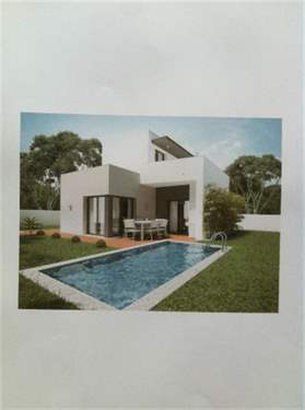 # 15644373 - £189,670 - 3 Bed Villa, Foz do Arelho, Leiria region, Portugal