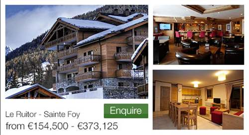 # 10165776 - £128,451 - 1 Bed Apartment, Sainte-Foy-Tarentaise, Savoie, Rhone-Alpes, France