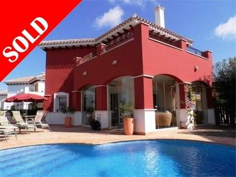 # 9181305 - £279,296 - 4 Bed Villa, Murcia, Province of Murcia, Region of Murcia, Spain