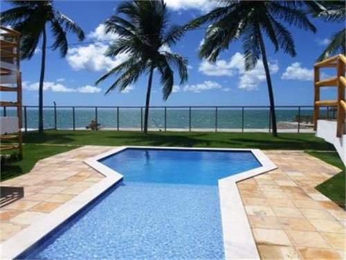 Beachfront home for sale in NE Brazil