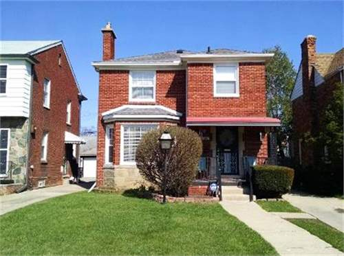 # 17952780 - £17,562 - 3 Bed Townhouse, City of Detroit, Wayne County, Michigan, USA