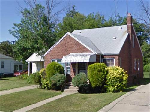 # 8151815 - £19,630 - 3 Bed House, Detroit, Wayne County, Michigan, USA