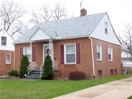 # 7578659 - £35,580 - 3 Bed House, City of Cleveland, Cuyahoga County, Ohio, USA