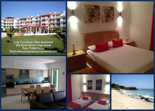 # 7478903 - £41,558 - 2 Bed New Apartment, Santa Maria, Sal, Cape Verde