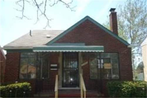 # 8470117 - £7,422 - 3 Bed House, Detroit, Wayne County, Michigan, USA
