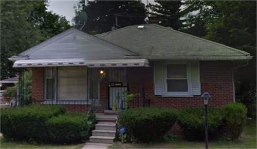 # 8470118 - £6,631 - 2 Bed House, Detroit, Wayne County, Michigan, USA