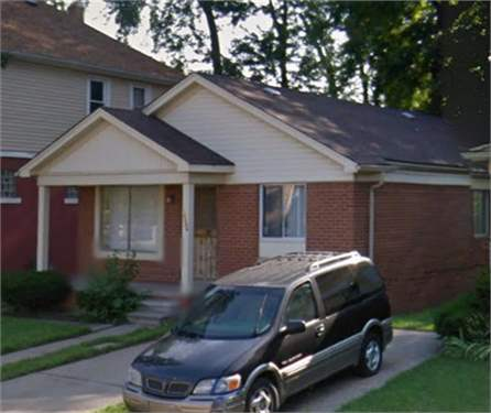# 8704243 - £8,364 - 3 Bed House, Detroit, Wayne County, Michigan, USA