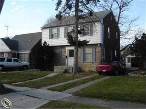 # 8704244 - £7,616 - 3 Bed House, Wayne County, Michigan, USA