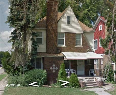 # 8704245 - £5,996 - 3 Bed House, Detroit, Wayne County, Michigan, USA