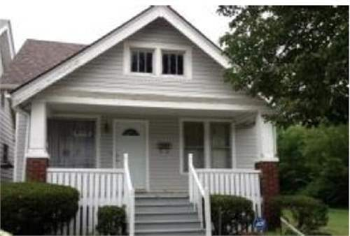 # 8726596 - £7,239 - 3 Bed House, Detroit, Wayne County, Michigan, USA