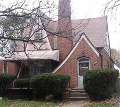 # 9709715 - £9,125 - 3 Bed House, Detroit, Wayne County, Michigan, USA