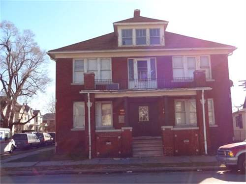 # 6882236 - £44,684 - 8 Bed House, Detroit, Wayne County, Michigan, USA