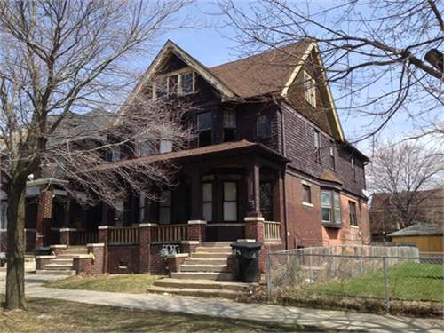 # 7576695 - £25,591 - 6 Bed Townhouse, Detroit, Wayne County, Michigan, USA