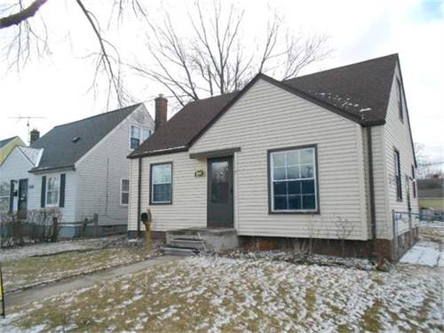 # 7640570 - £21,326 - 3 Bed House, Detroit, Wayne County, Michigan, USA