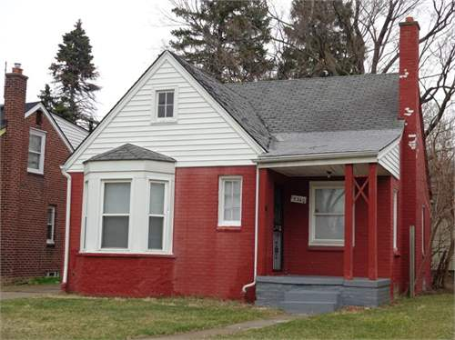 # 7727408 - £20,046 - 3 Bed Bungalow, Detroit, Wayne County, Michigan, USA