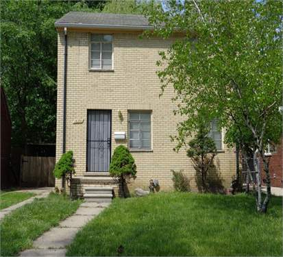 # 7727410 - £20,046 - 3 Bed House, Detroit, Wayne County, Michigan, USA
