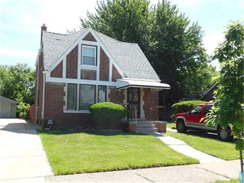 # 8065057 - £17,670 - 5 Bed Bungalow, Detroit, Wayne County, Michigan, USA