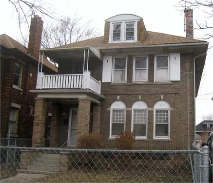 # 8254552 - £23,348 - 4 Bed House, Detroit, Wayne County, Michigan, USA
