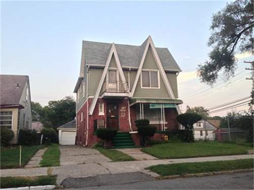 # 8725936 - £24,250 - 4 Bed House, Detroit, Wayne County, Michigan, USA