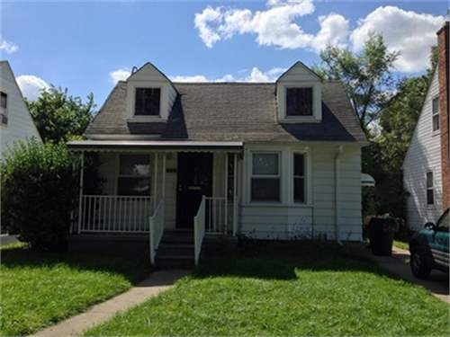 # 8877217 - £17,365 - 3 Bed Bungalow, Detroit, Wayne County, Michigan, USA