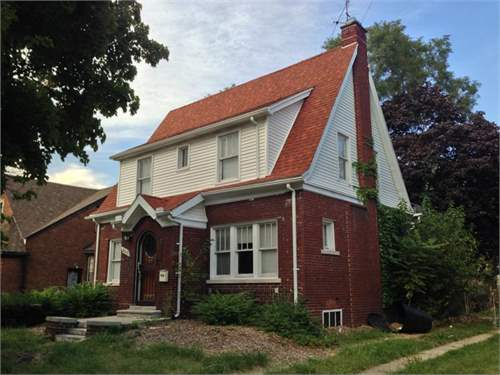 # 9531758 - £32,902 - 4 Bed House, Detroit, Wayne County, Michigan, USA
