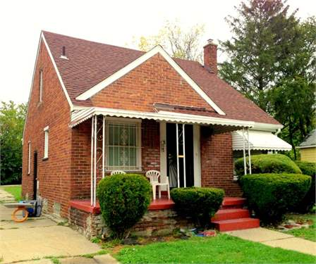 # 9531760 - £21,326 - 3 Bed House, Detroit, Wayne County, Michigan, USA