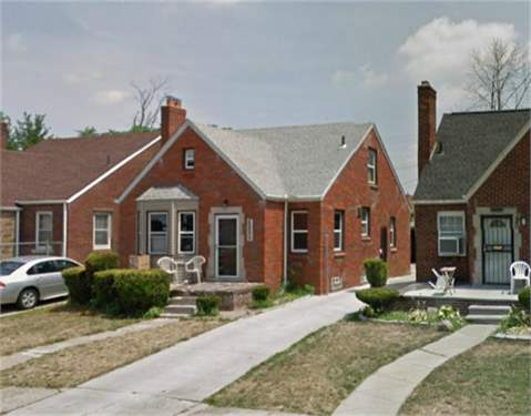 # 9531763 - £28,226 - 3 Bed House, Detroit, Wayne County, Michigan, USA