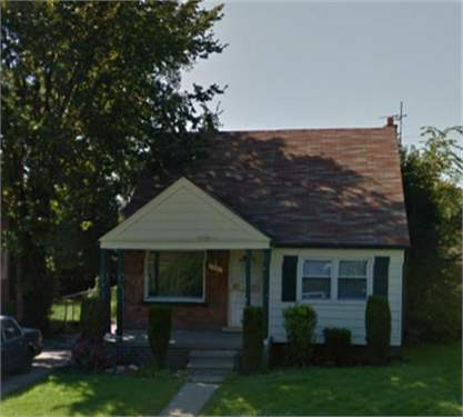 # 9531764 - £27,419 - 3 Bed House, Detroit, Wayne County, Michigan, USA