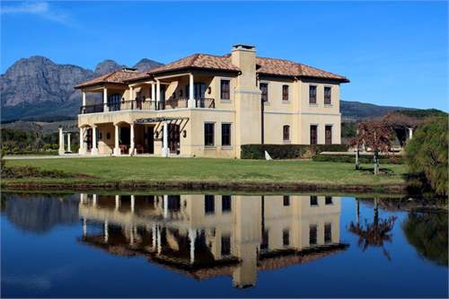 # 7476451 - £1,206,621 - 6 Bed House, Franschhoek, Western Cape, South Africa